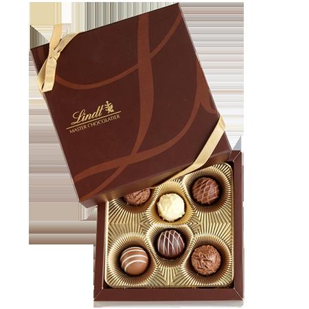 Gourmet Truffles Gift Box. Box supplied by Encore Intl. | Encore ...