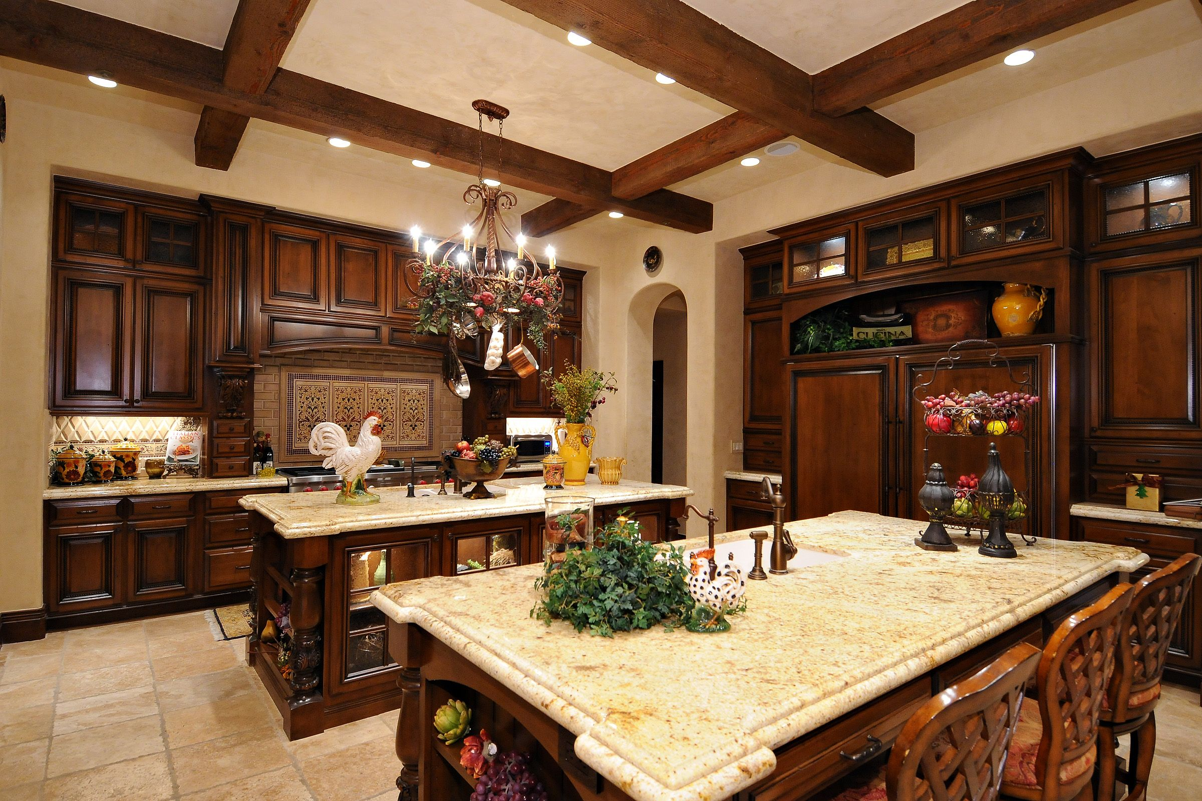 Colonial Kitchen Spanish Style Homes Spanish Colonial Estate Luxury Calvis