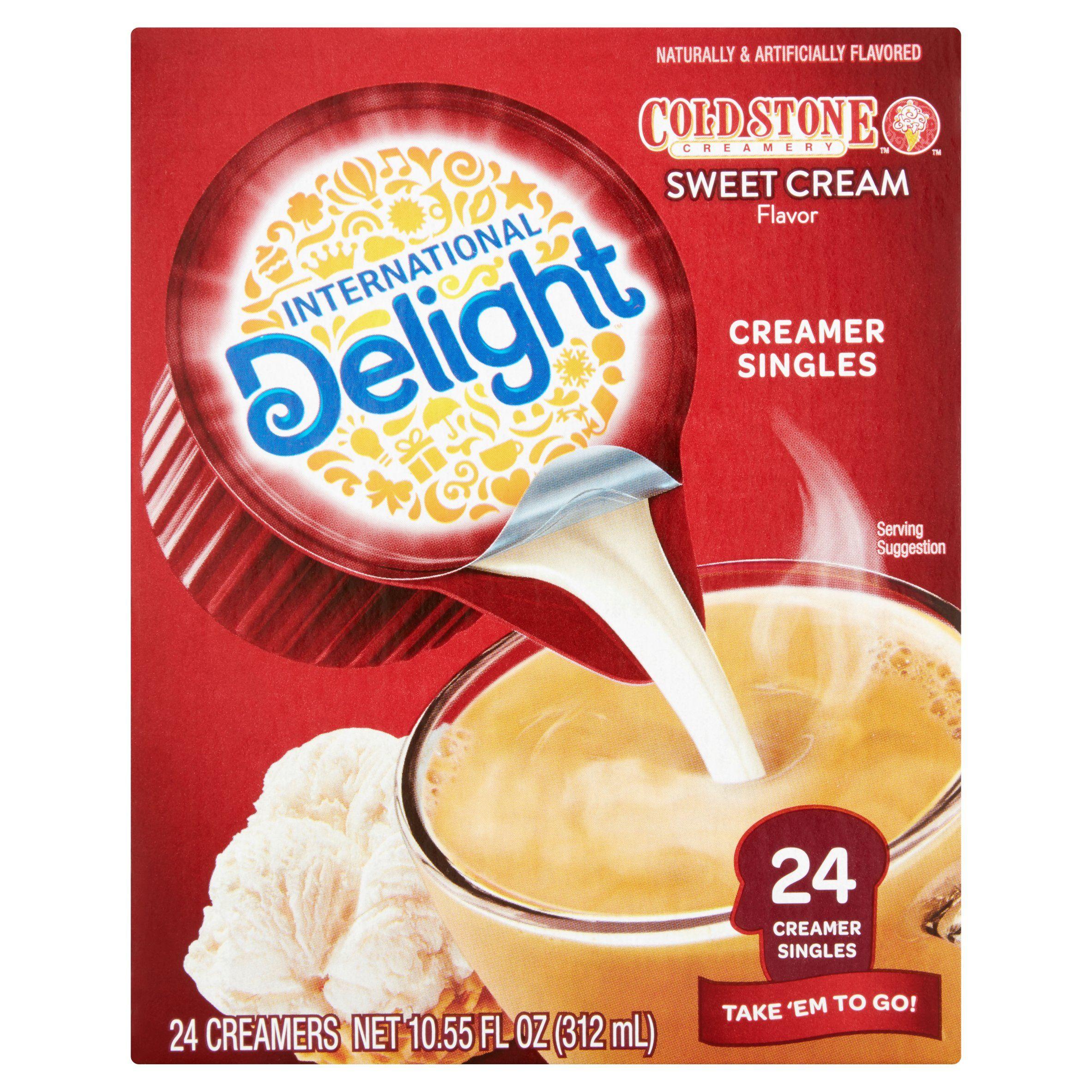 International delight cold stone sweet cream creamers 24