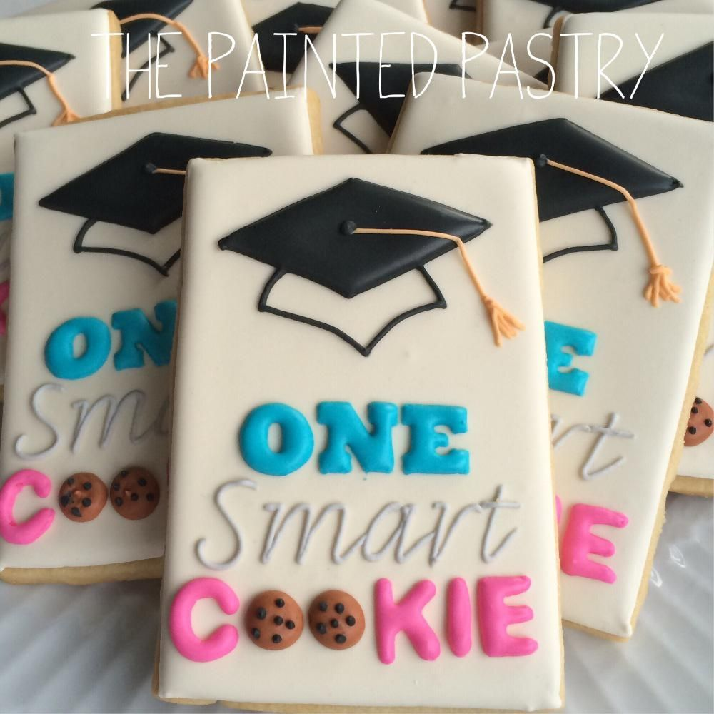 One Smart Cookie Graduation Cookies Cookie Connection