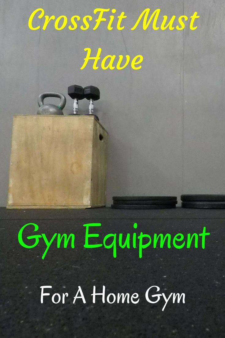 If youre into crossfit and want to have a crossfit home gym then
