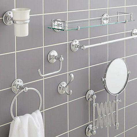 Miller Stockholm Bathroom Fitting Range At John Lewis Partners Bathroom Accessories Brass Bathroom Accessories Gold Bathroom Accessories