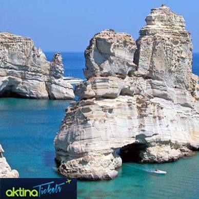 Καλημέρα από την όμορφη Μήλο!  Βρείτε τα φθηνότερα ακτοπλοϊκά και κλείστε τώρα εισιτήρια για τα αγαπημένα σας ελληνικά νησιά!  Αναζητήστε εδώ: www.aktinatickets.gr