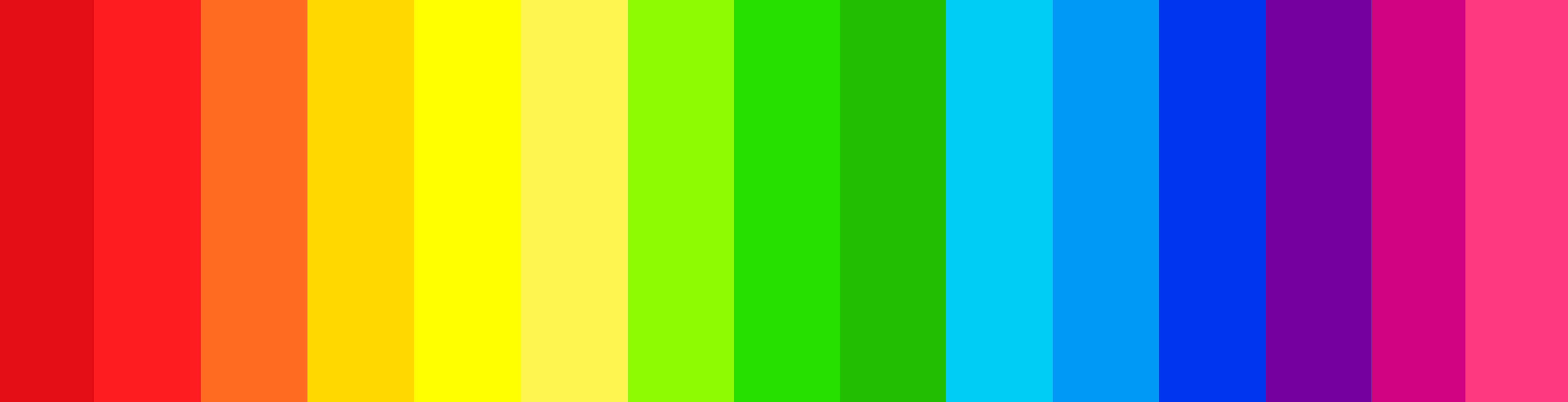 I have a headcanon for how colors work in the fandom! It\'s basically ...