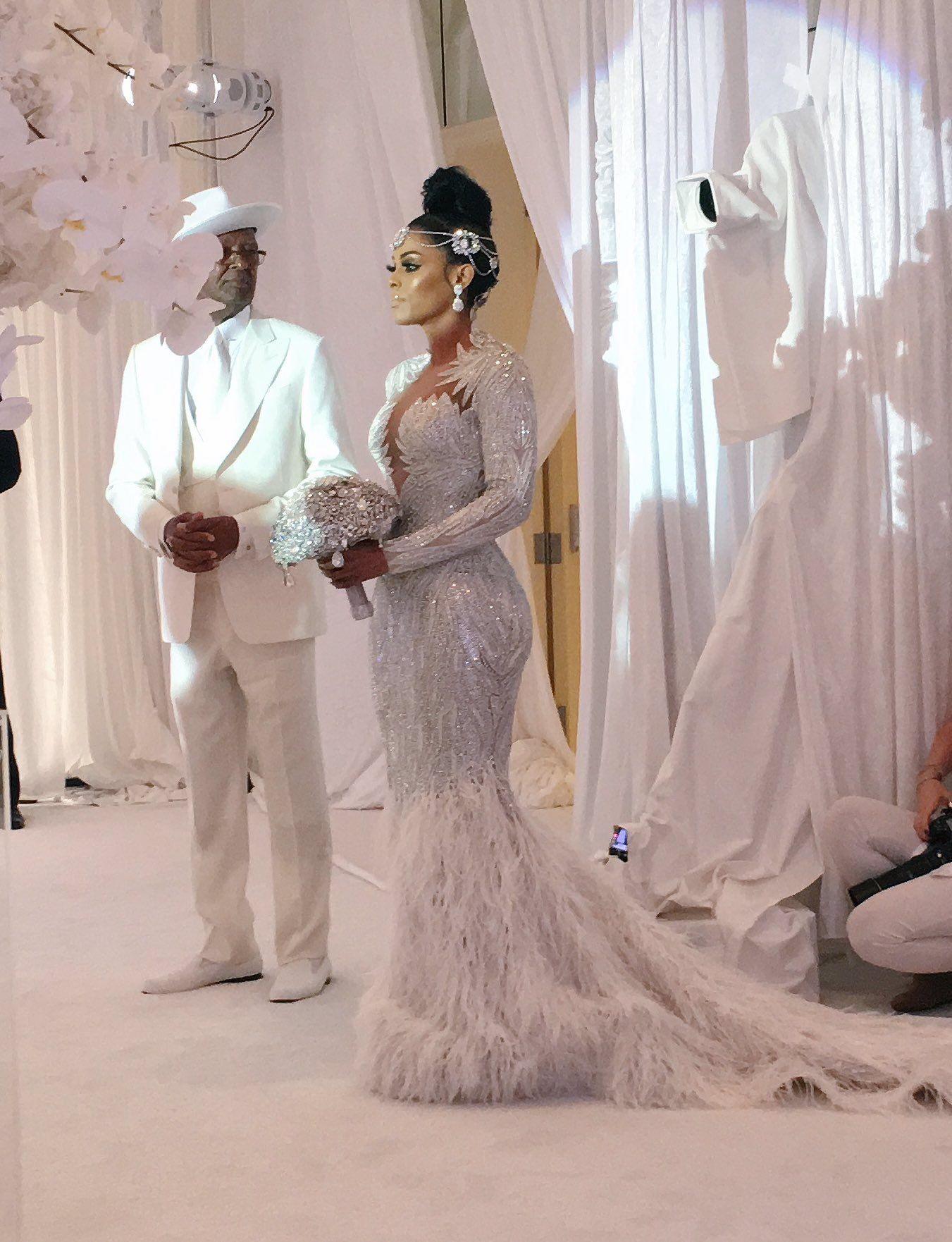 Gucci mane wife wedding dress  Pin by Gracia Mukendi on Kleding bruiloft  Pinterest  Wedding