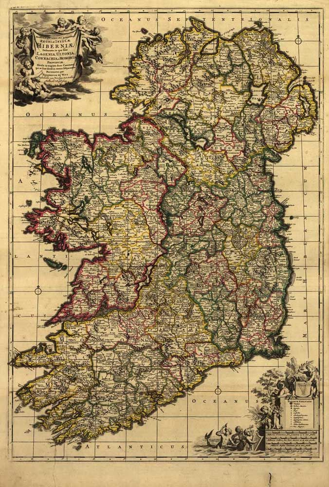 Hd vintage ireland map oil painting print on canvas retro hd vintage ireland map oil painting print on canvas retro wallpaper living room cuadros decoracion wall gumiabroncs Gallery