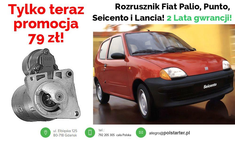 Rozrusznik Fiat Punto Seicento Palio 1 1 1 2 Bosch 6270071350 Oficjalne Archiwum Allegro Fiat Bosch Suv