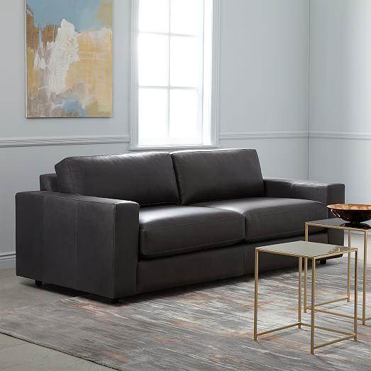 Urban Leather Sofa 84 5 Westelm