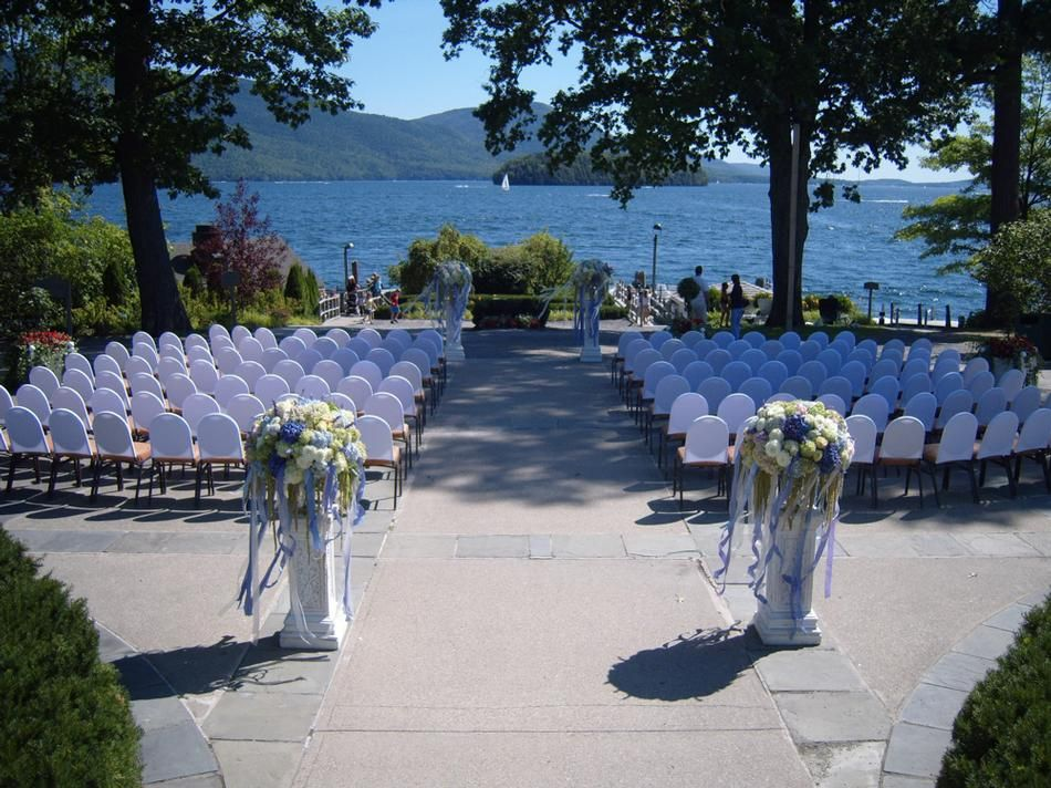 Wedding On The Lake In New York