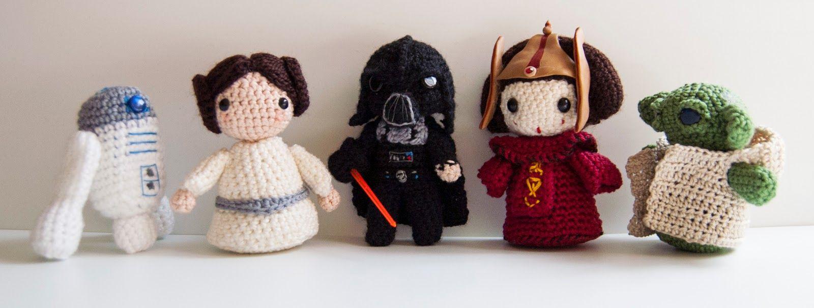 Increíble Guerra De Las Galaxias Patrones De Crochet Libre Ornamento ...