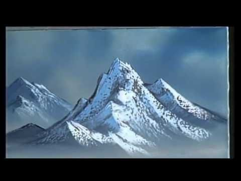 The Joy of Painting S14E6 Graceful Mountains - (Bob Ross) - YouTube