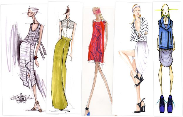 1000 images about fashion sketch on pinterest sketching david downton and wedding dress sketches fashion design ideas - Fashion Design Ideas