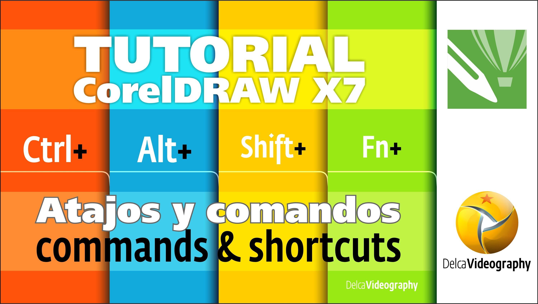 (BÁSICO) TUTORIAl 2 Corel DRAW X6, X7: Comandos y atajos prácticos/