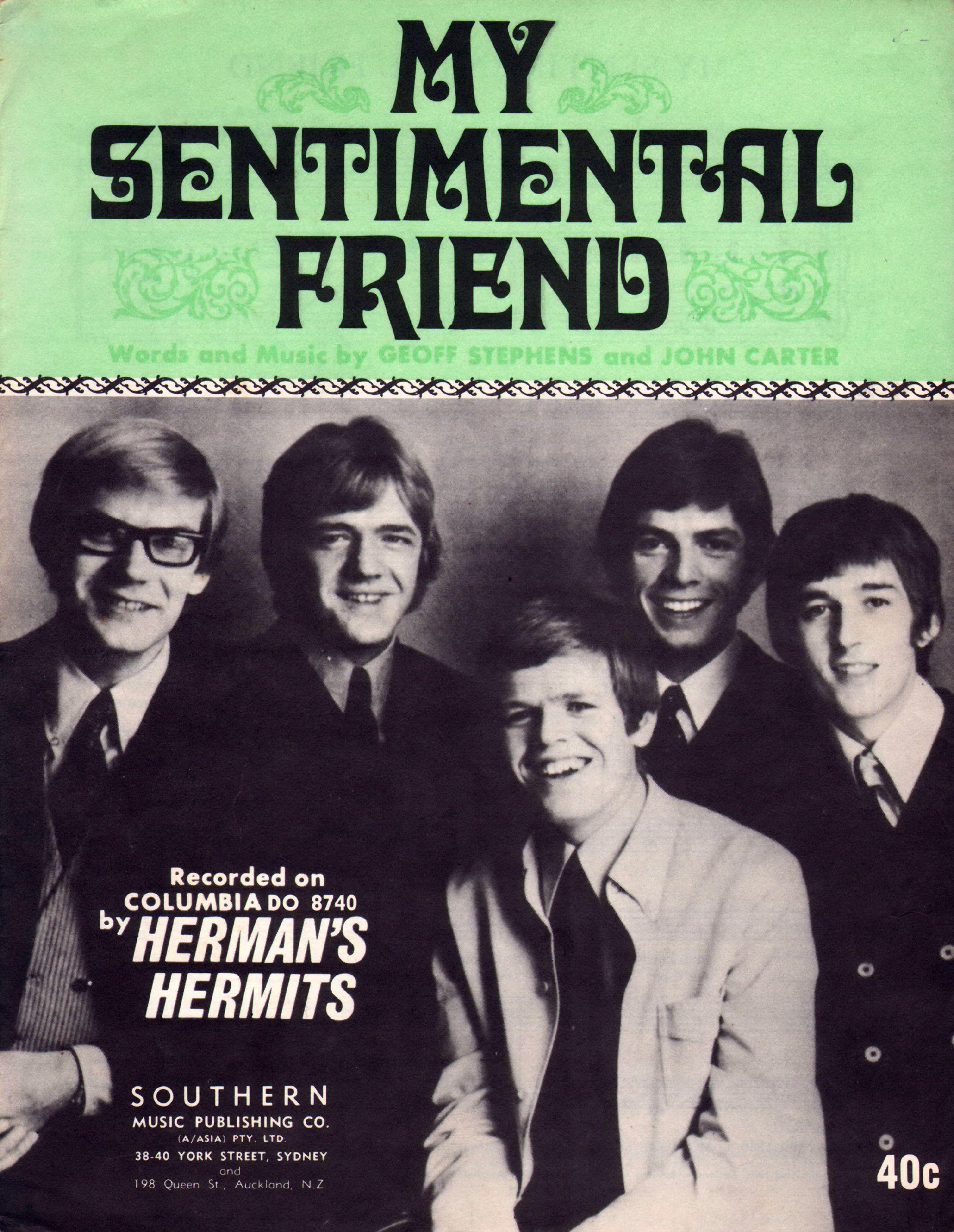 my sentimental friend hermans hermits
