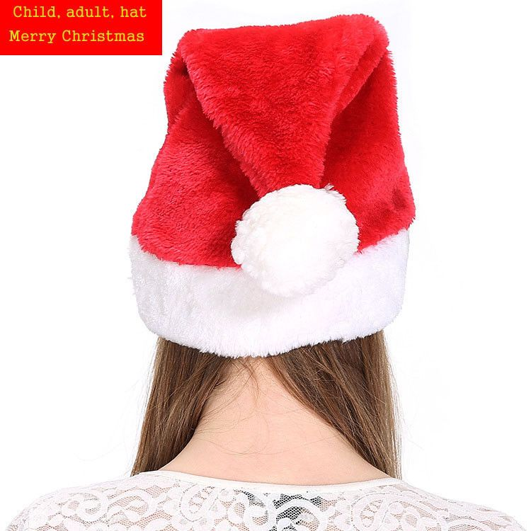 Long Santa Claus Hats Cloth For Adult Child Christmas Cosplay Outfit Accessories