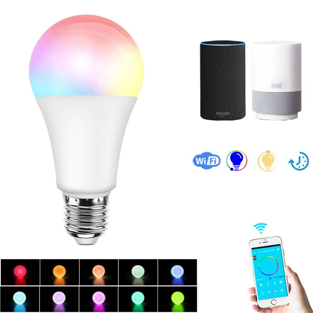 Wholesale Price Free Shipping Smart Light Bulbs E27 7 5w Rgbw