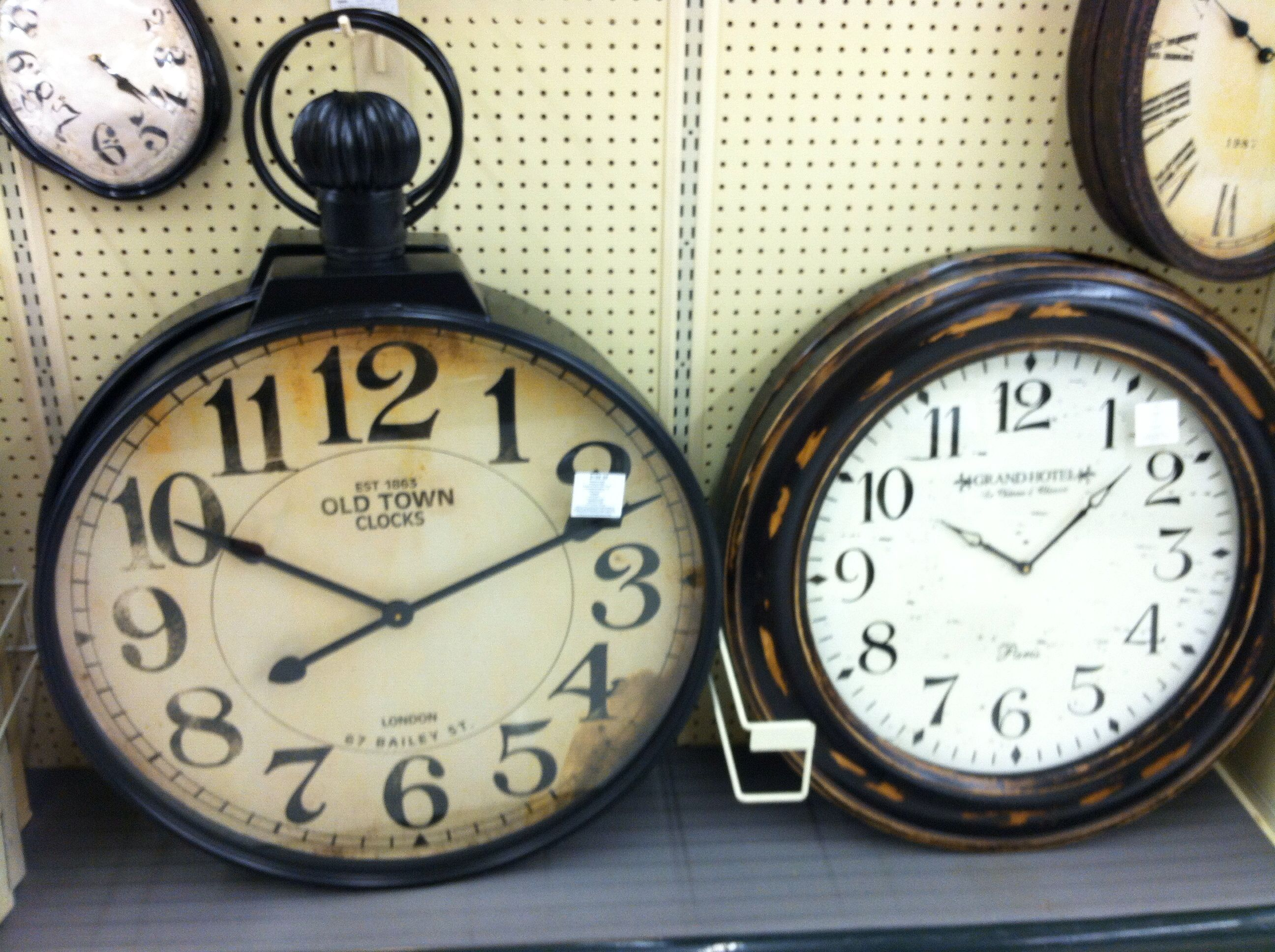 Large Wall Clocks At Hobby Lobby Large Wall Clock Old Town
