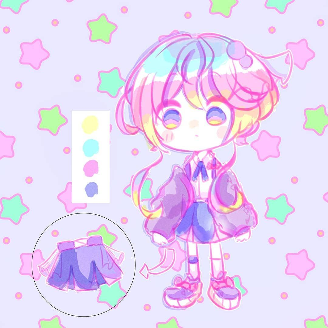 [Reference of my OC Seren] After so much, I have finally make one (๑•̀ㅂ•́)و✧ . . .