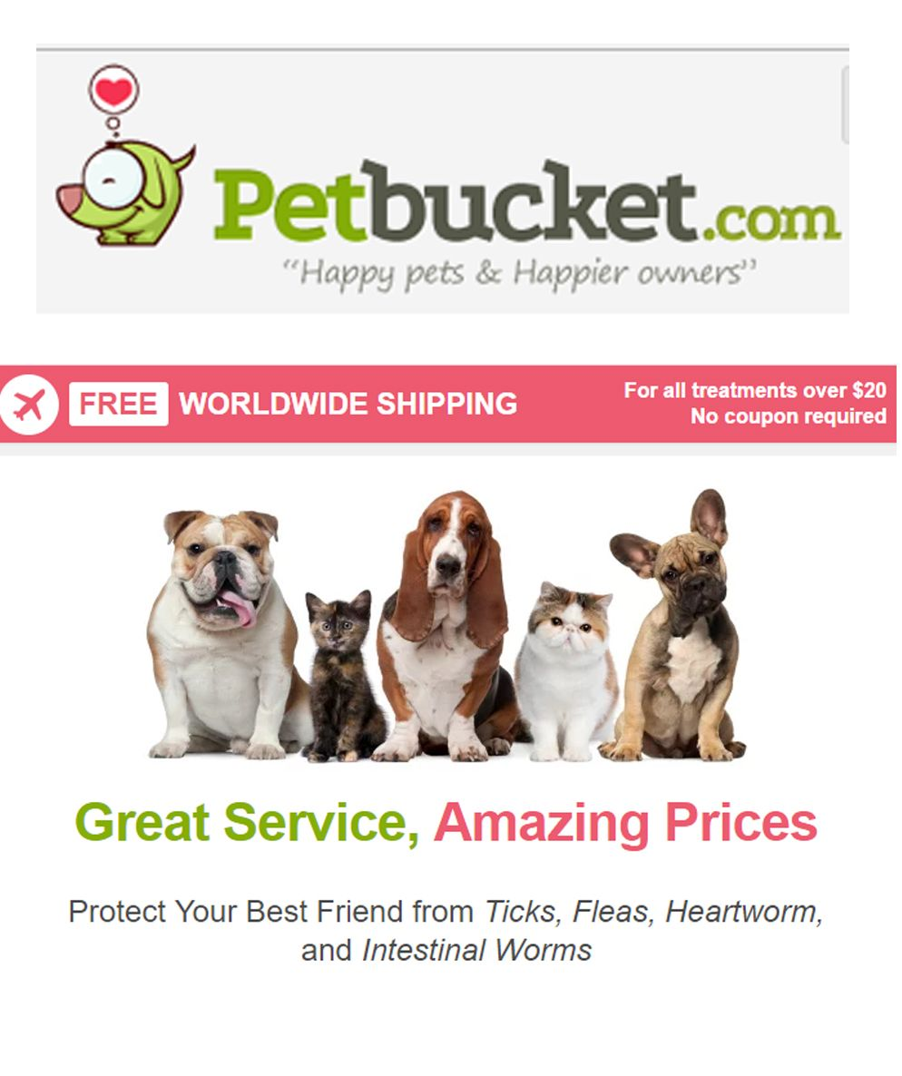 Great prices on heartworm meds happy animals