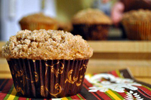 Pumpkin Cream Cheese Muffins | Full Fork Ahead