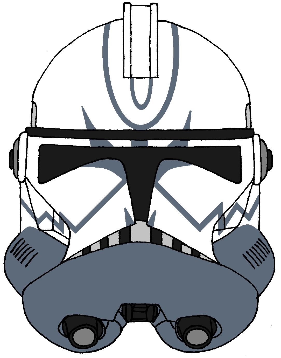 Clone Trooper Comet S Helmet 2 Star Wars Helmet Star Wars Characters Star Wars Trooper