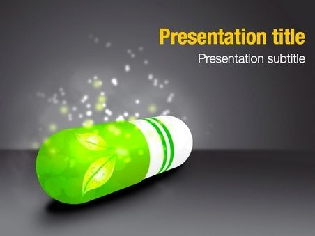 This Free Keynote Template Will Fit Presentations On Medicine
