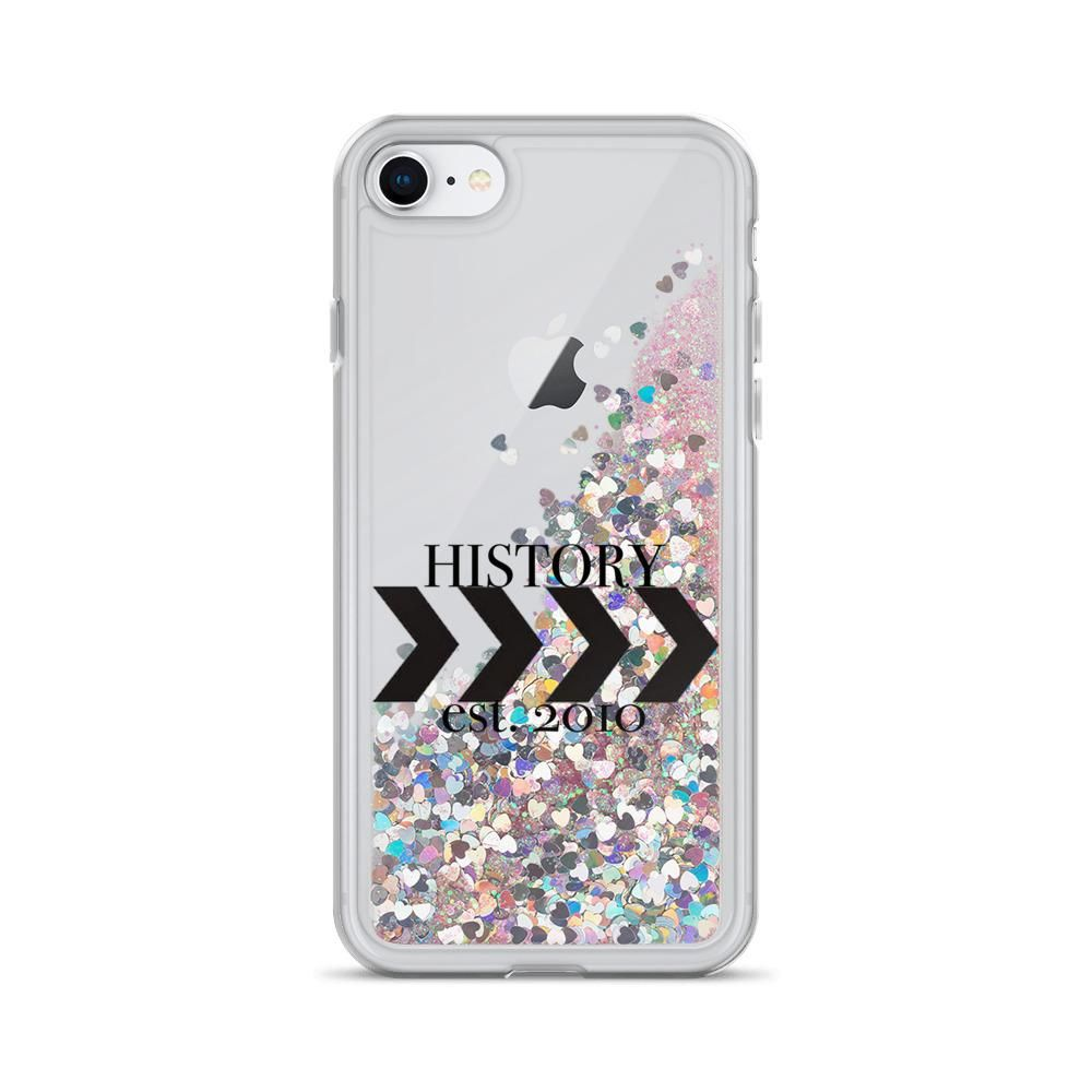 Photo of History est. 2010 Liquid Glitter Phone Case