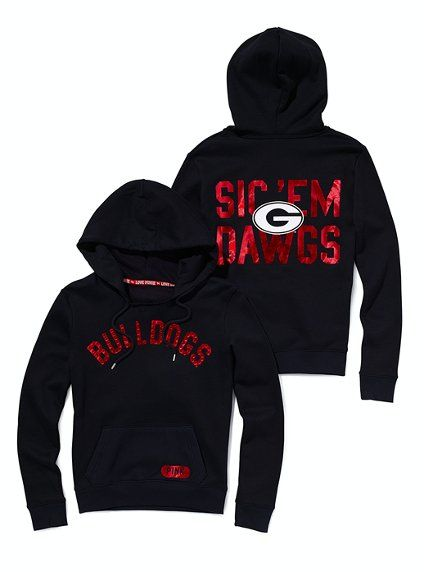 University of Georgia Bling Pullover Hoodie - Victoria's