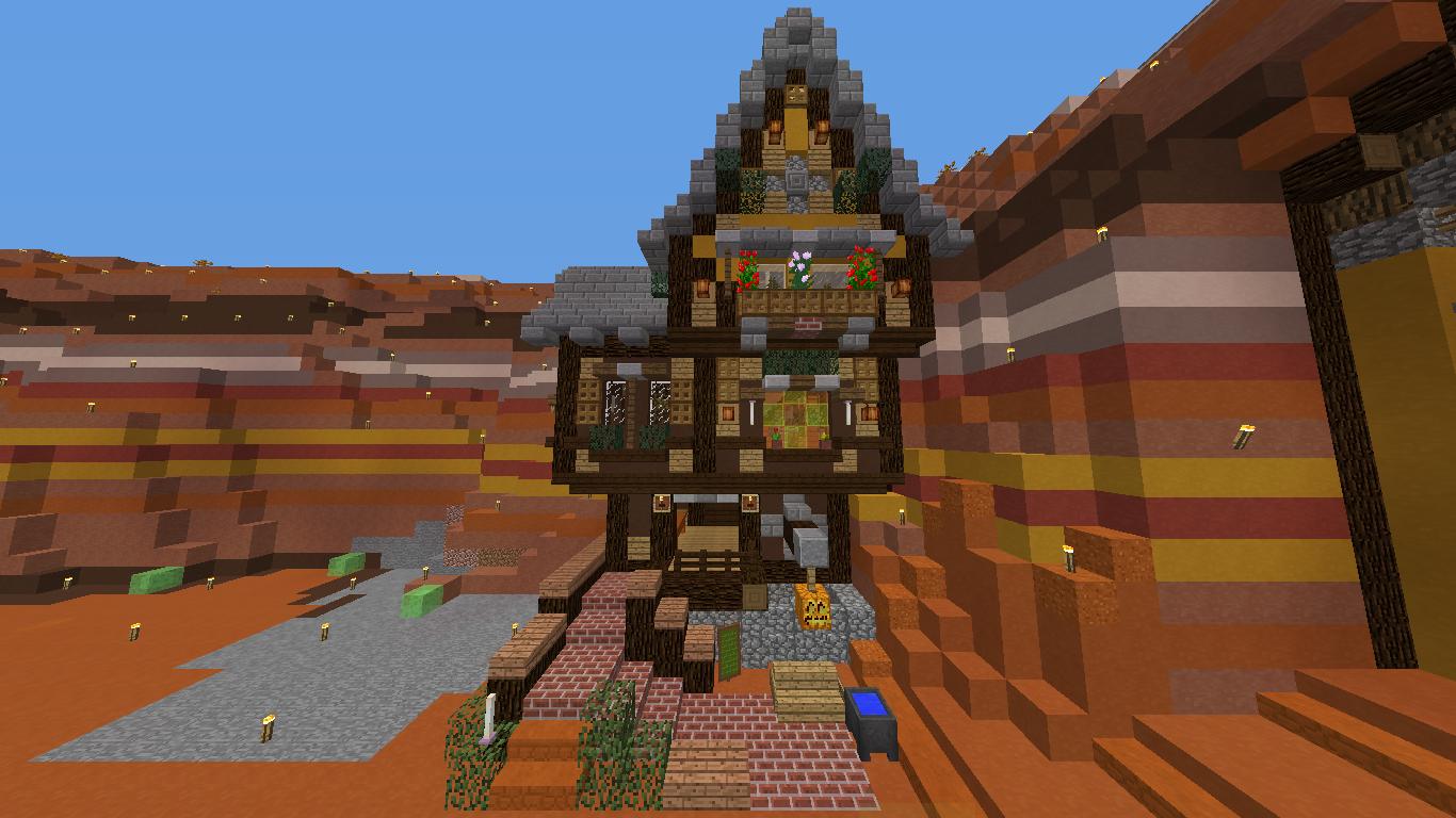 Minecraft cafe room house サバイバル