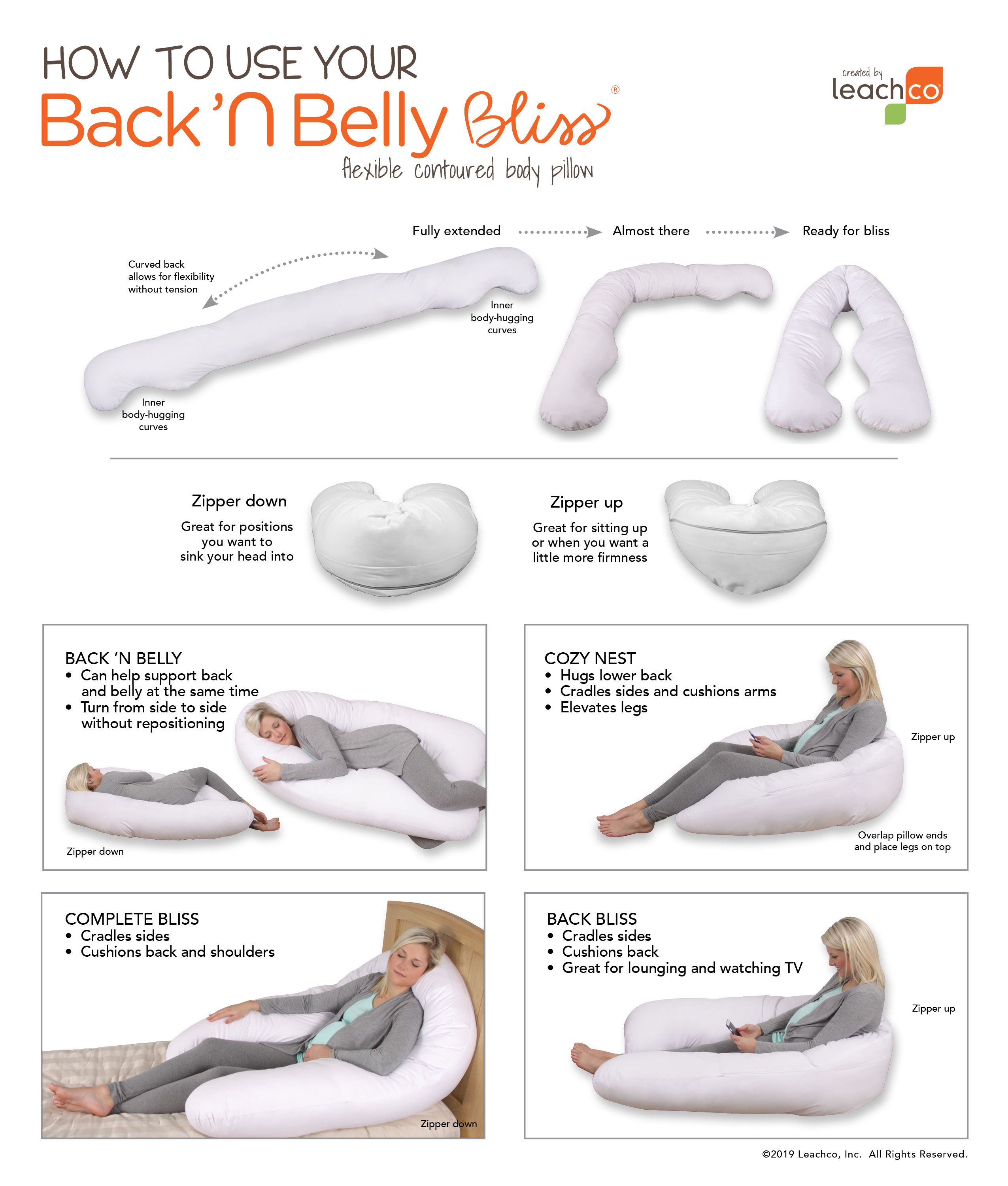 Back N Belly Bliss In 2020 Body Pillow Machine Wash Pillows Body