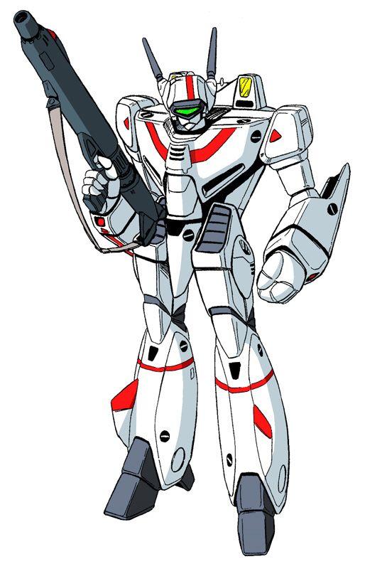 Vf1j Battroid Robotech Macross Robotech Mecha Anime