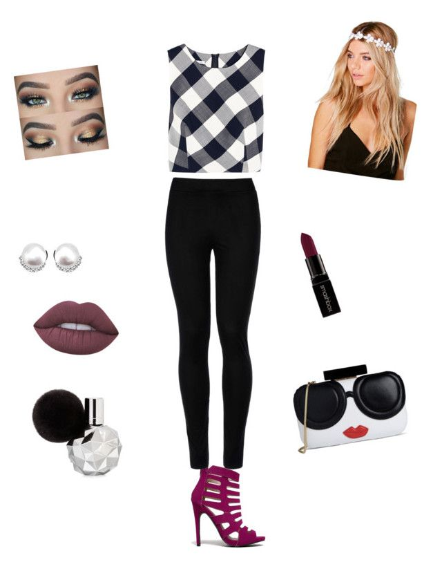 """"""""""" by fashion-is-great-2 on Polyvore featuring Oscar de la Renta, Qupid, Wolford, Boohoo, Lime Crime, Smashbox and Alice + Olivia"""