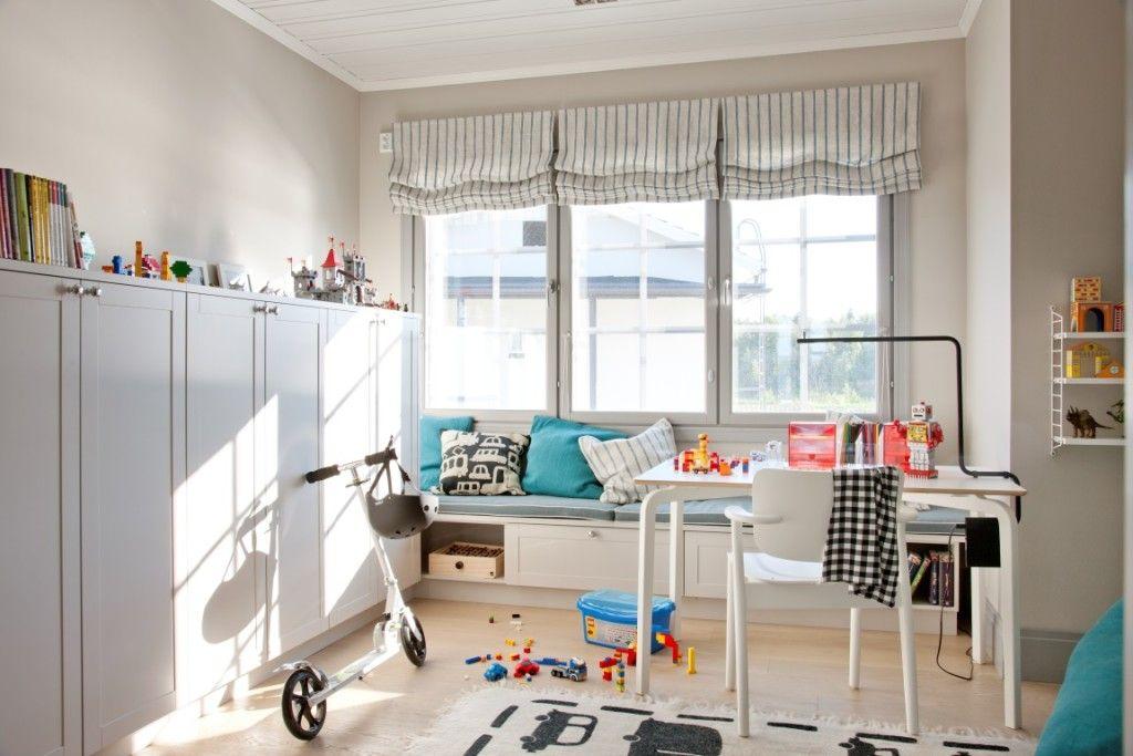 10 kivaa lastenhuonetta, josta poimia ideoita!