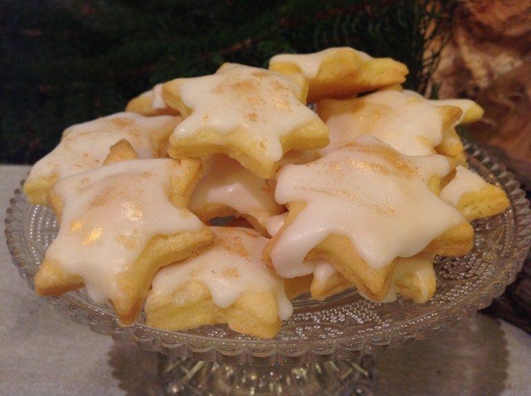 Zarte Zitronensterne, ein traumhaftes Gebäck #amazingcakes