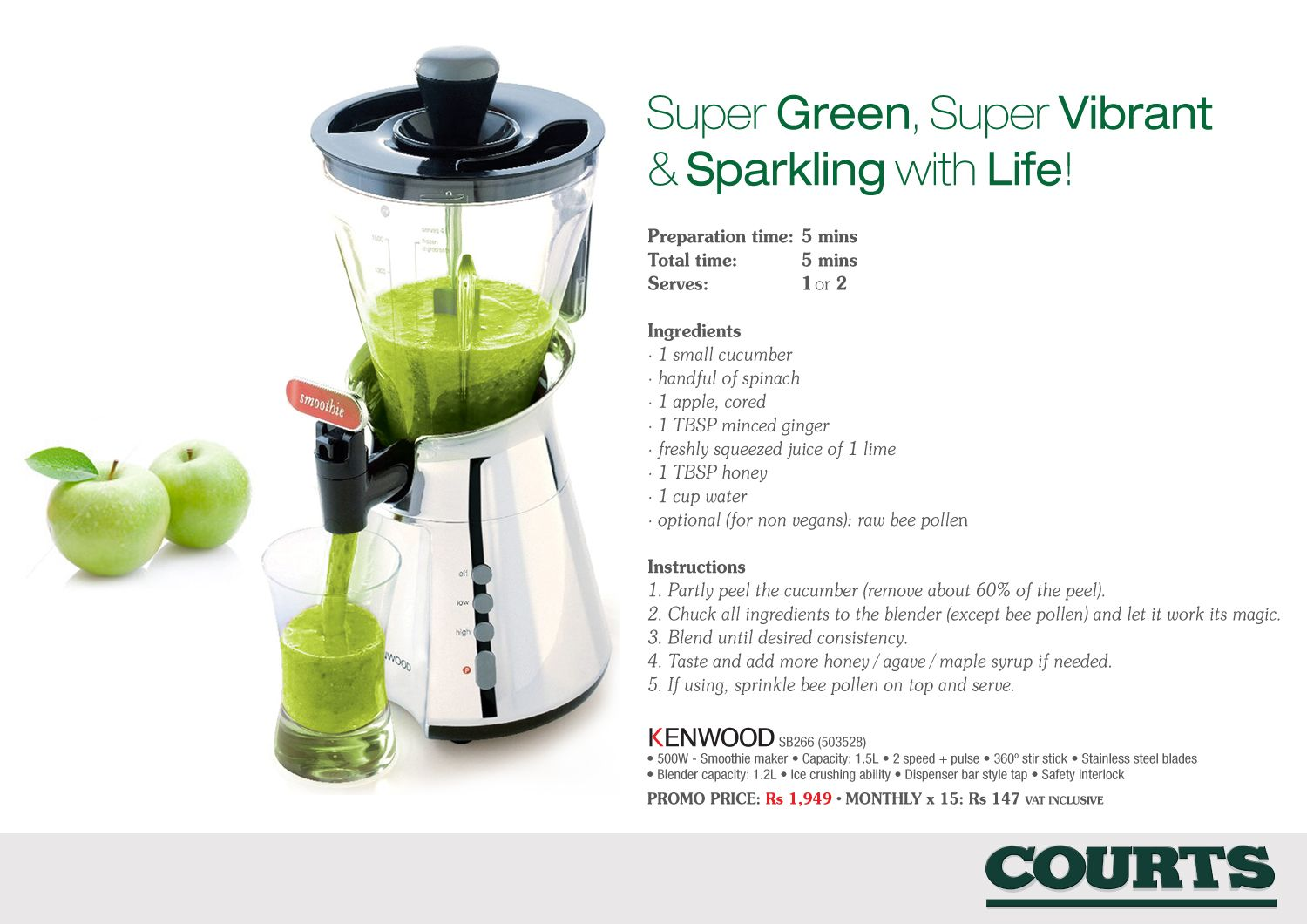 Smoothie to keep fit | Home & Kitchen Appliances | Pinterest ...
