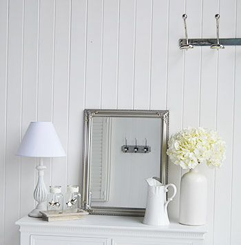 New England Furniture And Accessories White Home Accessories To Accompany Hall Furniture Bedroom And Bathroom From The White Lighthouse