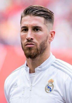 Sergio Ramos Ramos Haircut Sergio Ramos Hairstyle High And Tight Haircut