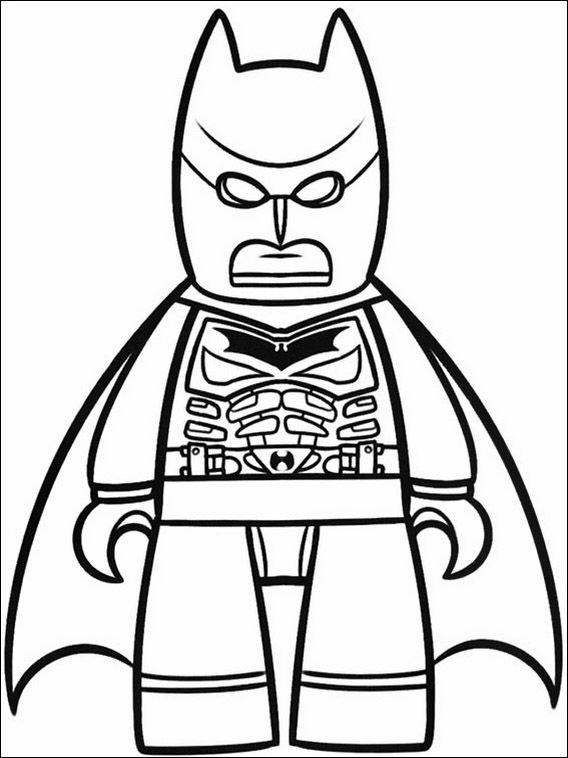 Lego Batman Coloring Pages 32 | Coloring pages for kids | Pinterest