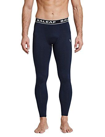 0300fee098edb Baleaf Men's Thermal Compression Baselayer Tights Fleece Lined Pants Review