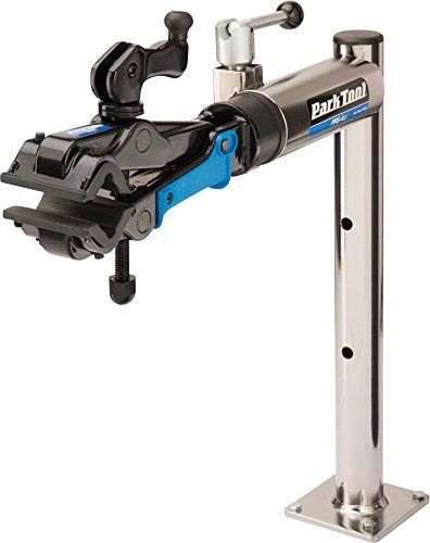 Single Park Tool PRS-4W-2 Professional Wall Mount Stand and 100-3D Clamp
