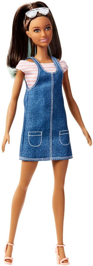 Fashionistas 72 Overall Awesome Original Barbie Doll #crochetedbarbiedollclothes