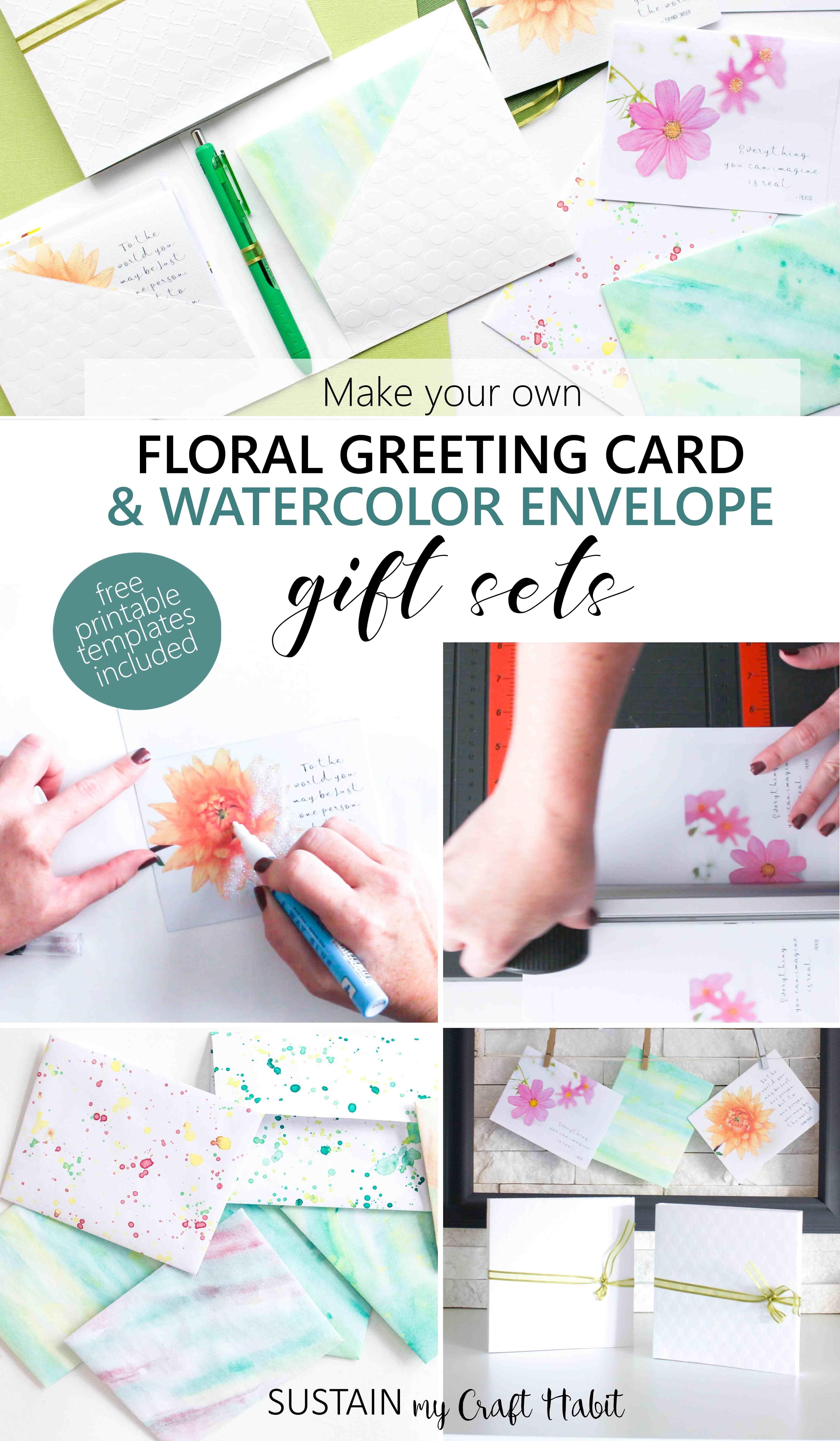 Card Making Gift Ideas Part - 44: Greeting Card Making | DIY Gift Idea | Create Greeting Card Gift Sets |  Video Tutorials