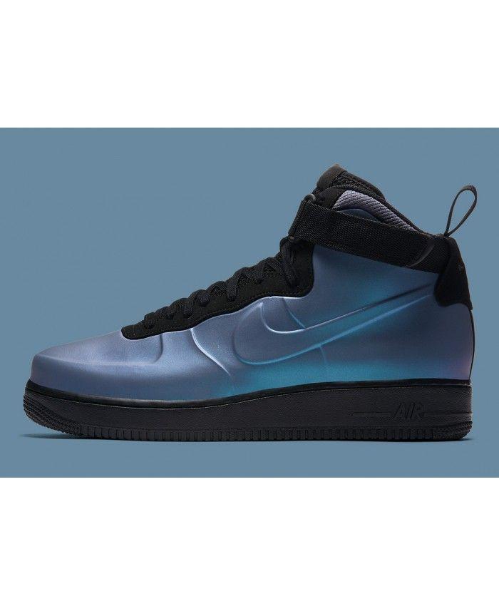 0a1e6967f5b94 Nike Air Force 1 Mens Foamposite CUP Light Carbon Black NIKE106 ...