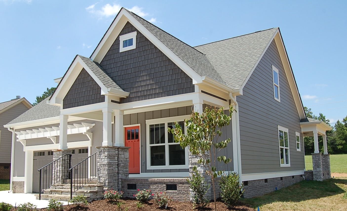 Aster gallery if you build it pinterest aster for Craftsman siding