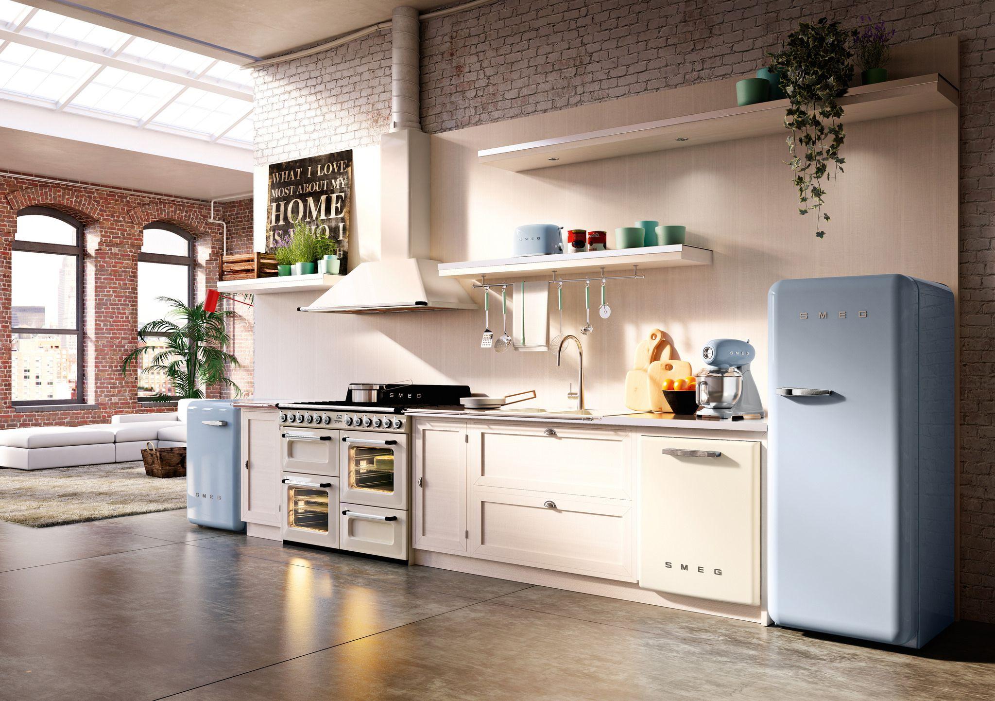 Smeg 50s style ideenwelten für küchen cocinas electrodomesticos