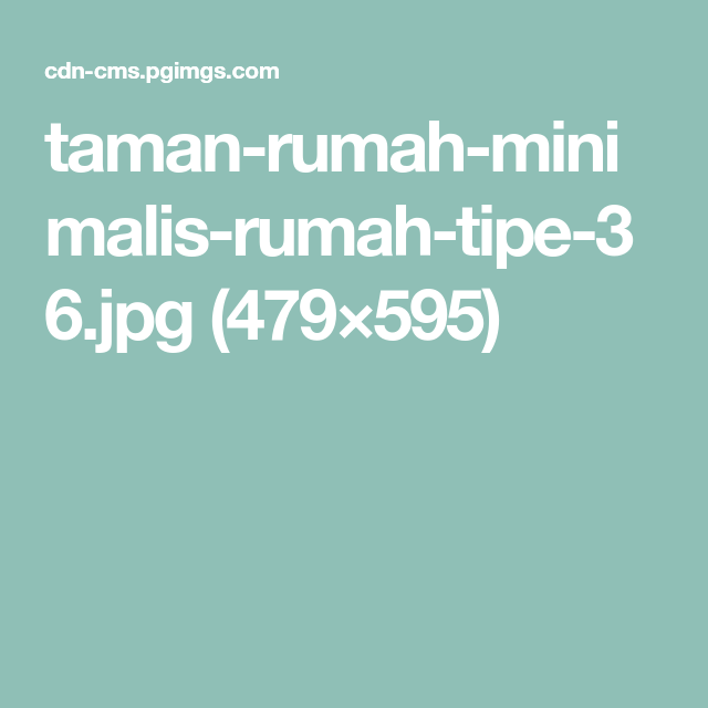 Small Mobile Homeinterior Design: Taman-rumah-minimalis-rumah-tipe-36.jpg (479 595)