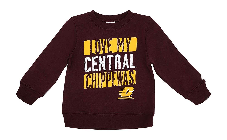 Central Michigan University Boys Crew Neck Sweatshirt Maroon Cs18ow59c7s Sweatshirts Crew Neck Sweatshirt Sweatshirts Hoodie [ 921 x 1500 Pixel ]