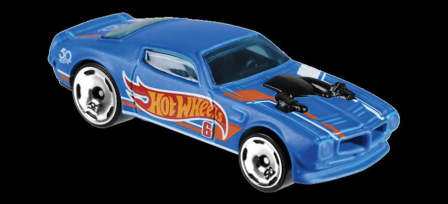 Hot Wheels 2018 HW 50 Race Team /'70 Pontiac Firebird