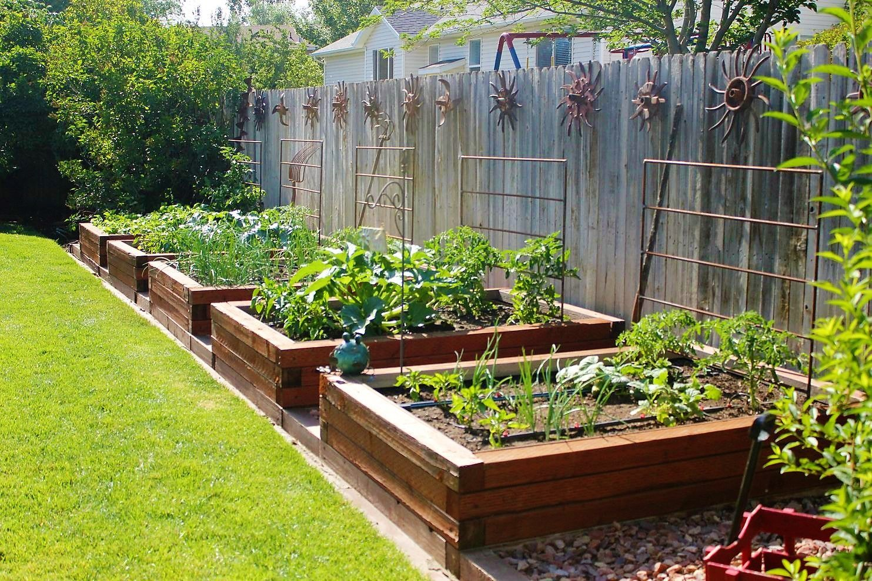 62 Affordable Backyard Vegetable Garden Designs Ideas Roundecor Lawn Design Backyard Garden Design Home Vegetable Garden