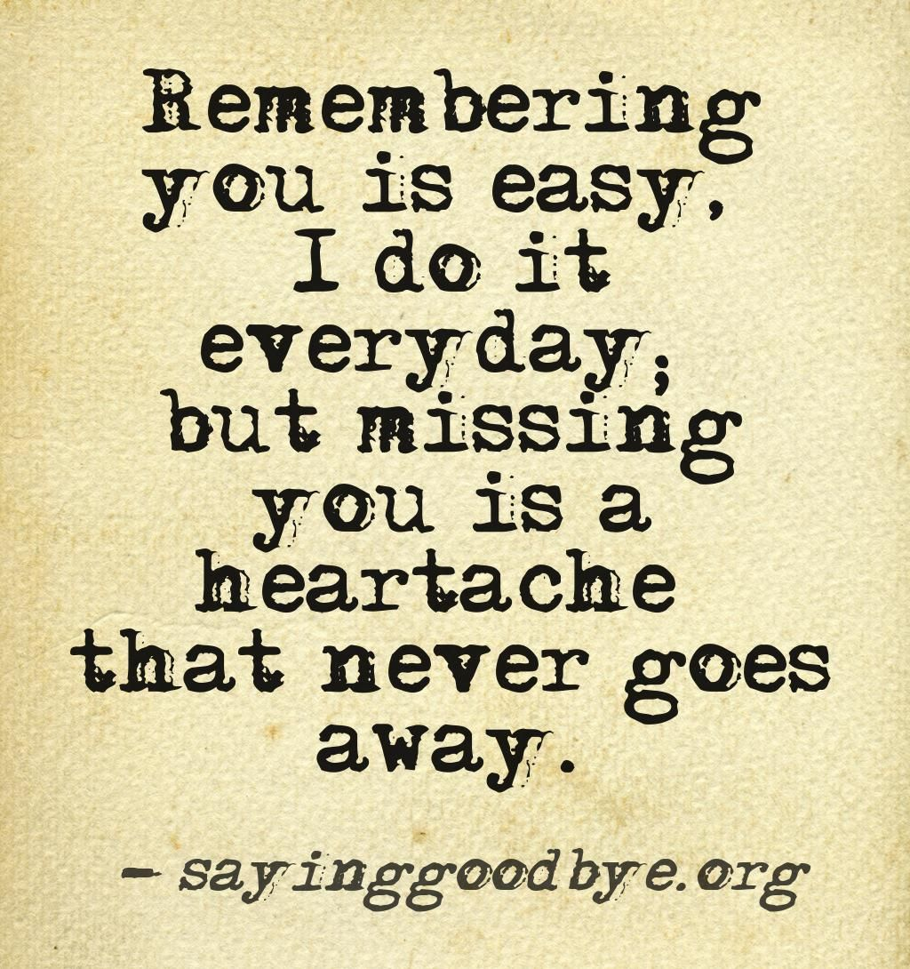 This Quote Is To True Miss The Loved Ones That Have Passed Like